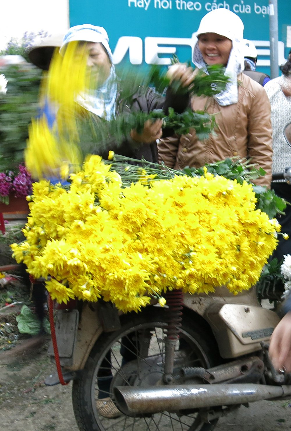 Lung Flower Market