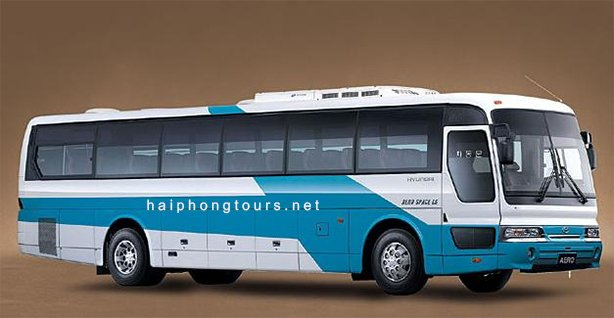 45 seat coach for rent Hai Phong