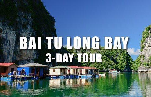 Bai Tu Long bay 3 days from Hai Phong