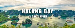 Halong Bay tour 3 days 2 nights from Hai Phong