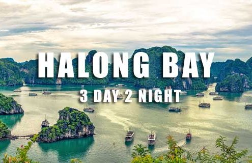 Halong Bay tour 3 days 2 nights from Hai Phong