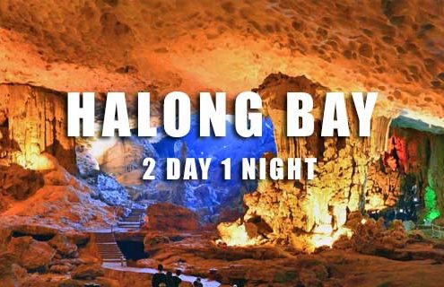 Halong bay tour 2 days 1 night from Hai Phong