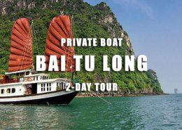 2 days Private cruise Bai Tu Long bay