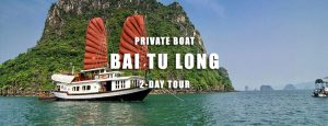 2 days Private cruise Bai Tu Long bay