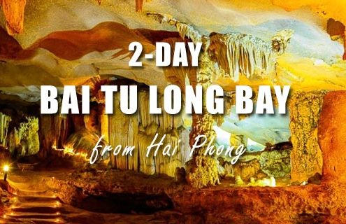 Bai Tu Long bay 2 days tour from Hai Phong