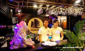 Oriental sails bar