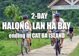 2-Day Halong, Lan Ha bay tour ending in Cat Ba island