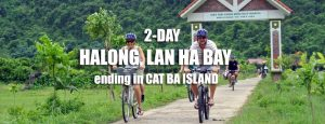 2-Day Halong, Lan Ha bay tour ending in Cat Ba island