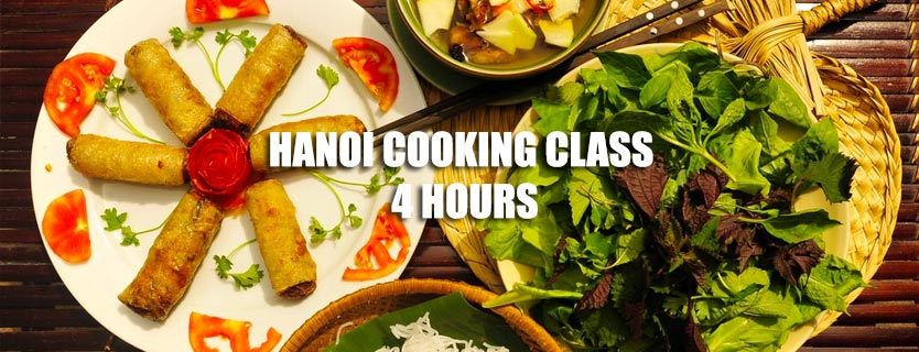 Hanoi Cooking Class 4 hours