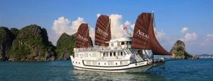 Aclass cruise tour pick up from Hai Phong