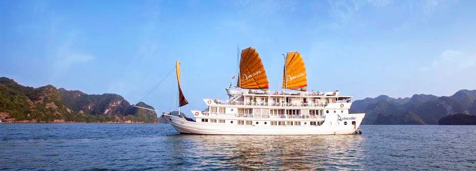Aphrodite Cruise Pick up from Hai Phong