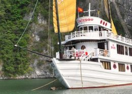 Calypso cruise tour pick up from Hai Phong