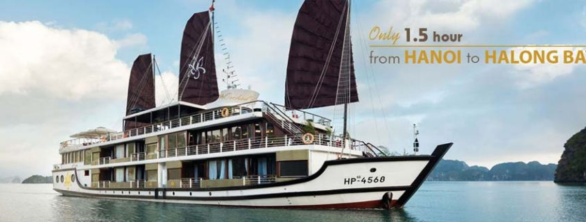 Orchid Cruise - 5 star cruise leaving from Dinh Vu port Hai Phong