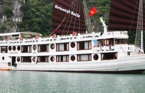 Oriental Sails cruise tour pick up from Hai Phong