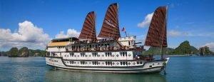 Paloma cruise tour pick up from Hai Phong