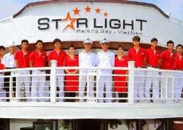 Starlight cruise tour pick up from Hai Phong