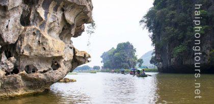 Eagle shape Tam Coc Ninh Binh