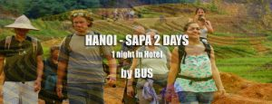 Hanoi Sapa bus tour 2 days 1 night in hotel