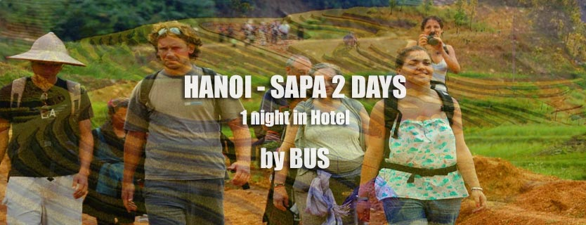 Hanoi Sapa bus tour 2 days 1 night in hotel
