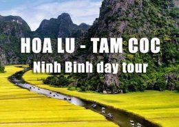 Hoa Lu Tam Coc day tour picked up in Hanoi