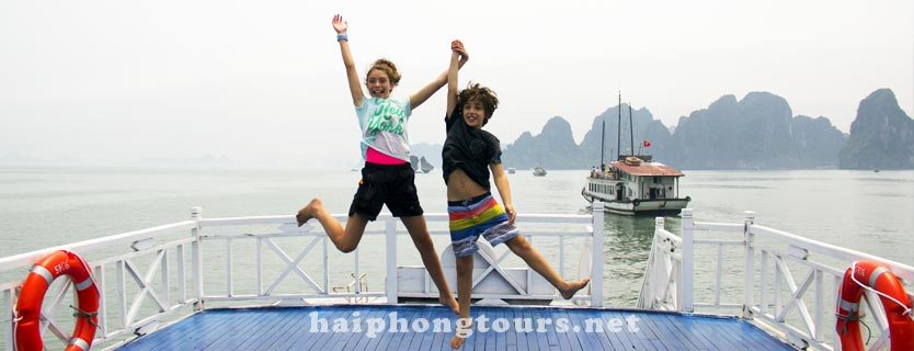 Hai Phong Halong bay tour 2 days 1 night onboard