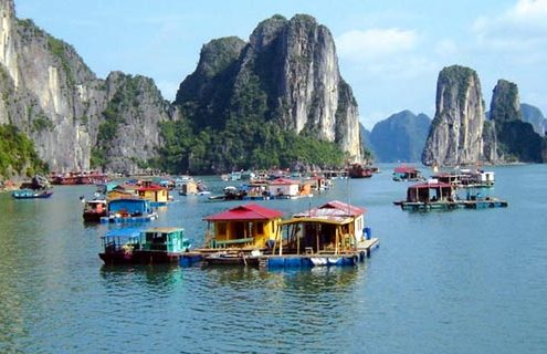 Hai Phong to Halong bay
