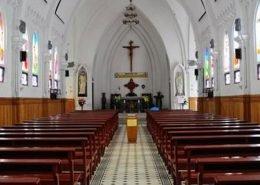 Stone Church in Sapa Vietnam