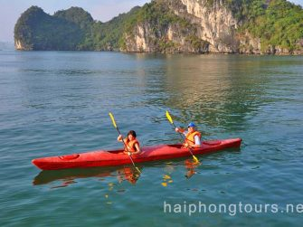 Calypso cruise kayaking