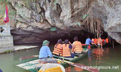 Dot cave Mua cave Trang An day tour