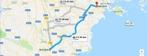 Private car from Binh harbor to Ninh Binh