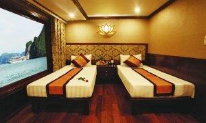 Twin Cabin Oriental Sails