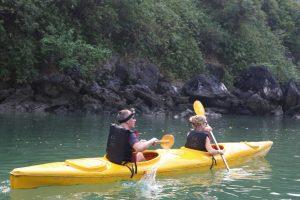 kayaking Vspirit cruise Hai Phong