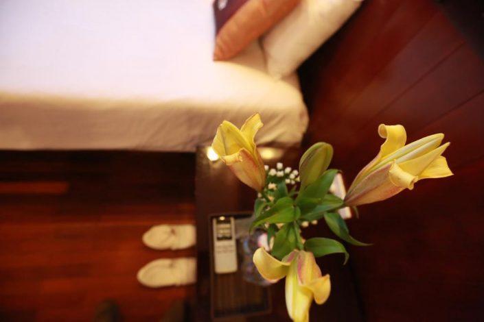 nice decoration Vspirit cruise Hai Phong