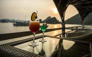 sunset Vspirit cruise Hai Phong