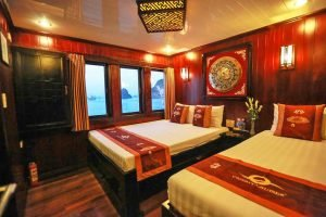 triple room Vspirit cruise Hai Phong