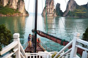 view Vspirit cruise Hai Phong