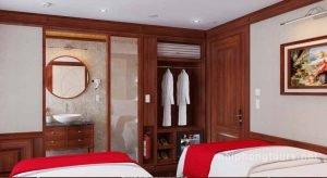Deluxe room Hai Phong Calypso Cruise