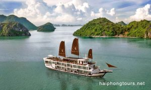 Hai Phong Perla Dawn Sails overview