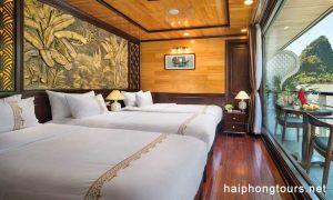 Junior suite tirple room perla dawn