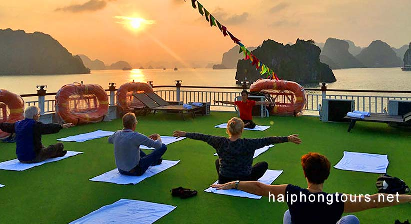 Morning Taichi Hai Phong Calypso Cruiser