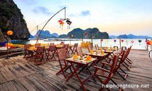 perla dawn cruise fishing village