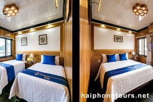 Connecting room Halong Grayline Cruise
