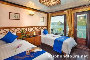 Deluxe Twin room Halong Grayline Cruise