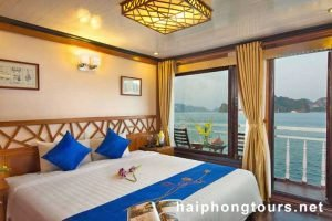 Deluxe double room Halong Grayline Cruise