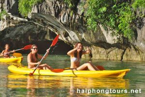 Kayaking Halong Grayline Cruise