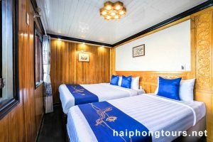 Superior twin room Halong Grayline Cruise