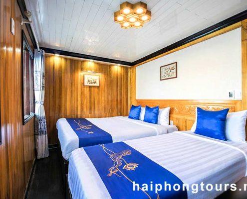 Superior twin room Halong Grayline Cruise