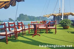 sundeck Halong Grayline Cruise