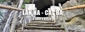 Lan Ha Bay Cat Ba island 2 day tour Hai Phong departure