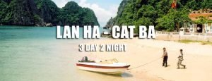 Lan Ha Bay Cat Ba island 3 day tour Hai Phong departure